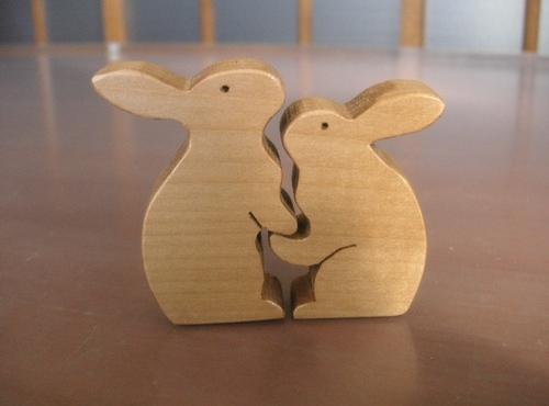 Pict0489 二羽のウサギ